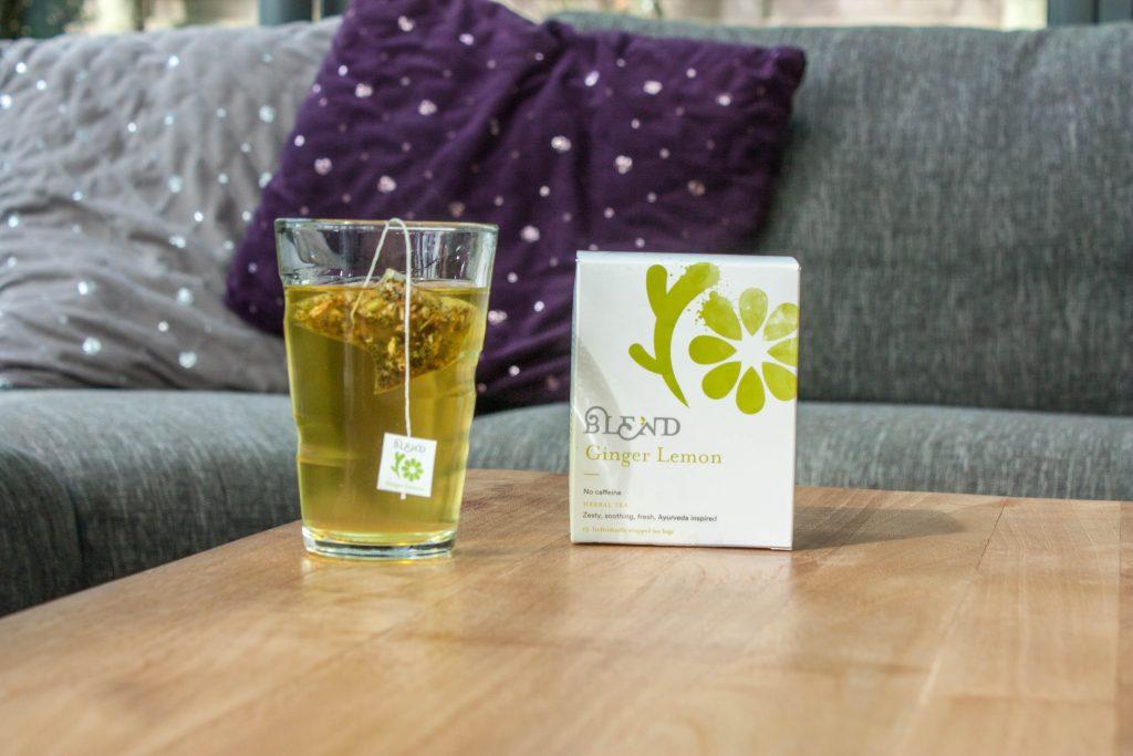 ontdek onze nieuwe thee ginger Lemon